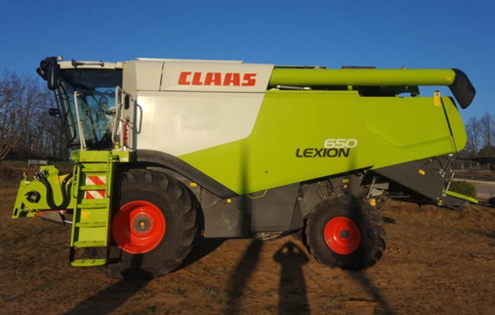 Lexion 650 usada