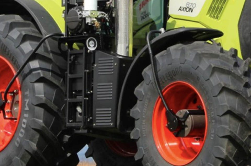 Código de ruedas de maquinaria agricola
